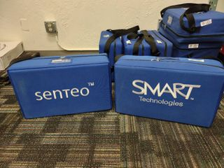 lot of 2 Cases of Senteo Interactive Response Systems