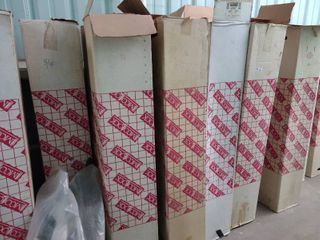 Seven Boxes of 5 8  ID Pipe insulation