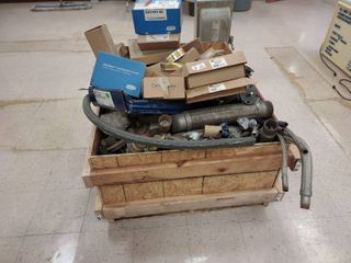 large Pallet Box of Misc  Plumbing Components