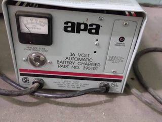 APA 36 Volt Automatic Battery Charger