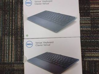 lot of 2 Dell Venue Keyboards