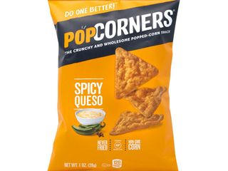 PopCorners Popped Corn Spicy Queso Snack Bags  1 Oz  lot Of 12 Bags