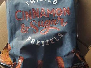 Twisted Cinnamon   Sugar Pretzels 4 oz