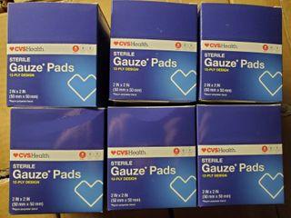 Sterile Gauze Pads 2 x2  25pcs
