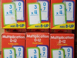 School Zone Publishing Flash Cards  Multiplication 0 12