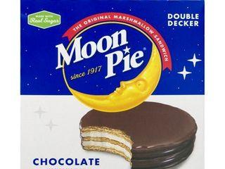 Moon Pie Double Decker Chocolate Marshmallow Sandwich