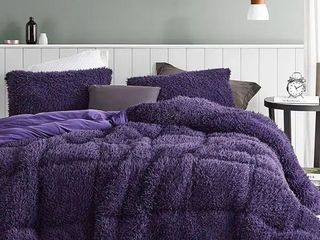 Twin Xl  Queen of Sleep   Coma Inducer Oversized Comforter   Purple Reign  Shams not included  Retail 95 99
