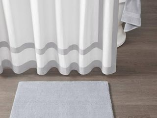 Home Essence Marshmallow Tufted Microfiber Solid Bath Rug