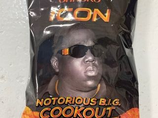 Rap Snacks Icon Notorious B i g Cookout Bbq Sauce 2 75oz  Box of 24