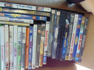 DVDs and Wii games