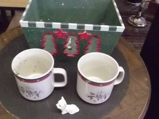 SNowman coffee set