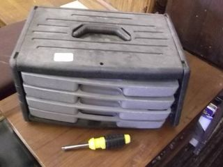tool box full of tools