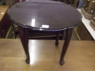 Cherry queen ann side table