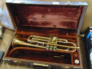 Olds trumpet w mouth piece