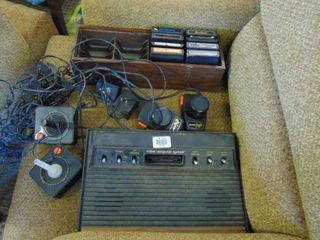 Atari 2600 game console   controllers   games