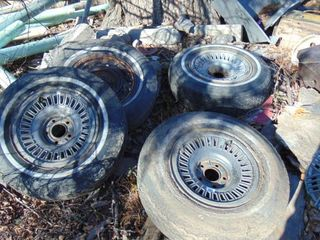 3 GM factory mag wheels from mid 70s   15
