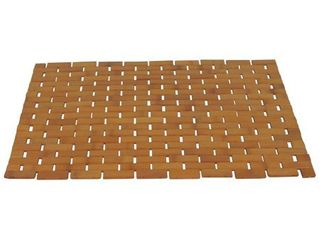Bamboo Spa Style Shower Mat