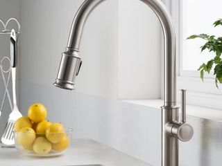 KRAUS Sellette Single Handle Pull Down Kitchen Faucet