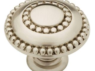 liberty PBF808C SN C 1 3 8 Double Beaded Cabinet Hardware Knob ct 10