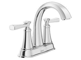American Standard Rumson 4 in  Centerset 2 Handle Bathroom Faucet in Polished Chrome
