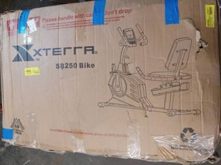 XTERRA Fitness SB250 Recumbent Bike with Advanced Console Features