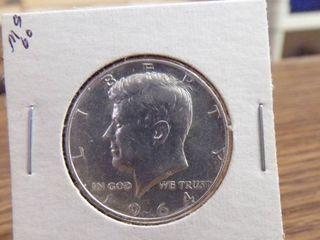 1964 KENNEDY HAlF MS60