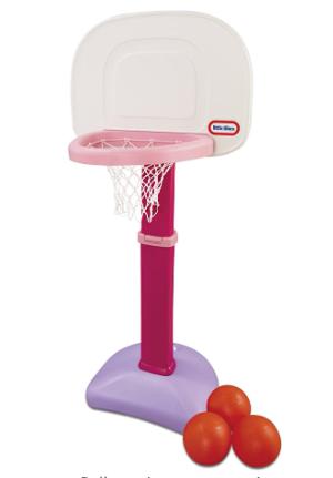 little Tikes Easy Score Basketball Set Pink 3 Balls   Exclusive