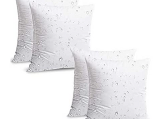 IZO Home Goods Set of 4 Outdoor 16 x 16 Pillow Inserts