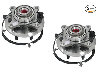 DRIVESTAR 515142 4WD Front left Right Wheel Hub   Bearing Assembly for Ford F 150 Ford Expedition lincoln Navigator 2011 14 4WD Only Excludes Heavy Duty Models 6 lugs w ABS Pair