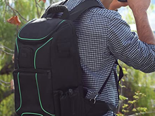 USA Gear Black and Green Back Pack
