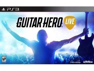 GUITAR HERO lIVE BUNDlE PS3