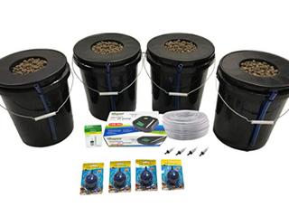 Viagrow Deep Water Hydroponic 4 Plant Set