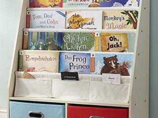 SeiriOne Kids BookRack Storage Beige