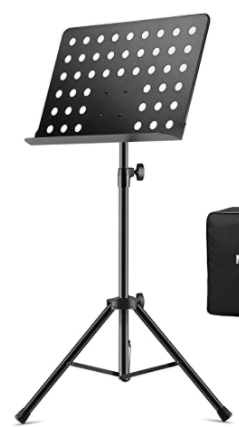 Portable Music Stand With Stand
