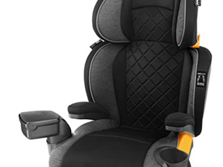Chico Car Booster Seat   Black Gray