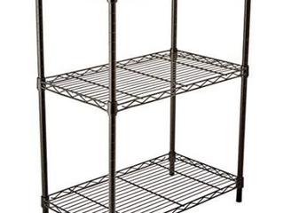 Amazon 3 Shelf Shelving Unit Black