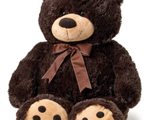Giant To Be Stuffed Teddy Bear   Chocolate Brown
