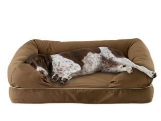 large Chocolate Brown Dog Animal Bed