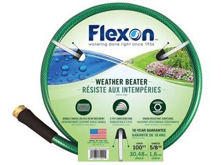 Flexon Tgc5850 5 8 inch X 50 foot Heavy Duty 5 ply Greenchoice Garden Hose