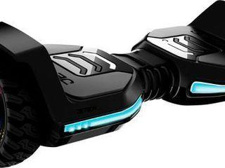 Jetson   Flash All Terrain Electric Self Balancing Scooter w 12 mi Max Operating Range   10 mph Max Speed   Black
