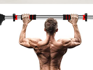 Muscoach   Total Upper Body Conditioning Multi Grip Pull Up Bar