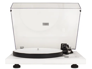 Crosley Record Player   White   Damaged lid