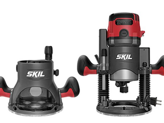 SKIl Plunge   Fixed Base Router   Troupies Model RT1322 00