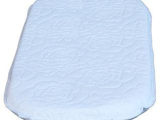 Colgate Bassinet Oval Mattress   White