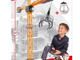 Dickey Toys Construction Remote Control Crane Toy