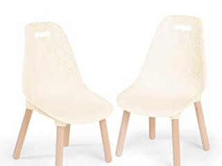 B Spaces Kids Century Modern Furniture   CHAIRS ONlY   Off White Wood