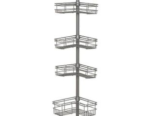 Tension Shower Caddy   Nickel