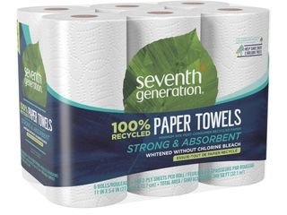 Seventh Generation Recycled Paper Towels   6 Rolls