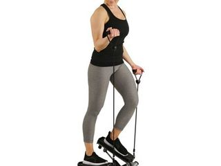 Sunny Health and Fitness Twist Stepper with Resistance Band   NO  045