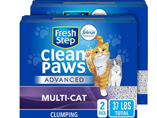 Cleaner Paws Clumping Cat litter Deodorizer For litter Boxes Easy Scoop 2 Pack